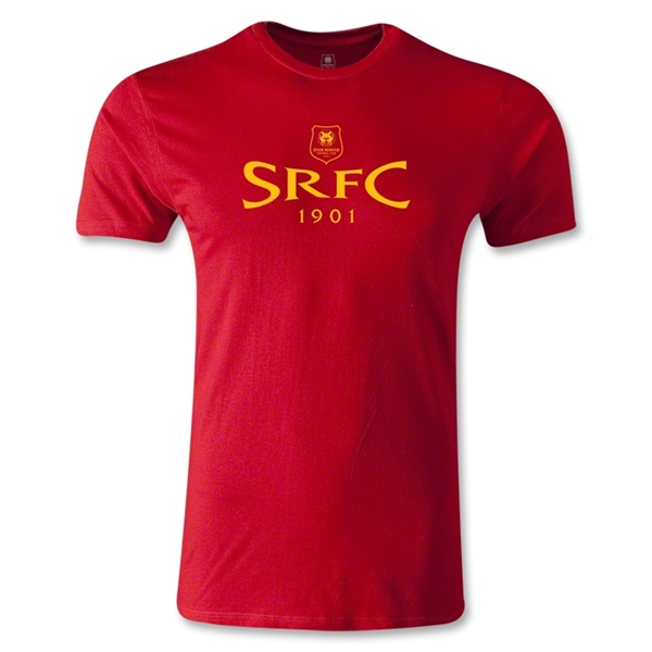Stade Rennais FC SRFC Men's Fashion T-Shirt (Red)