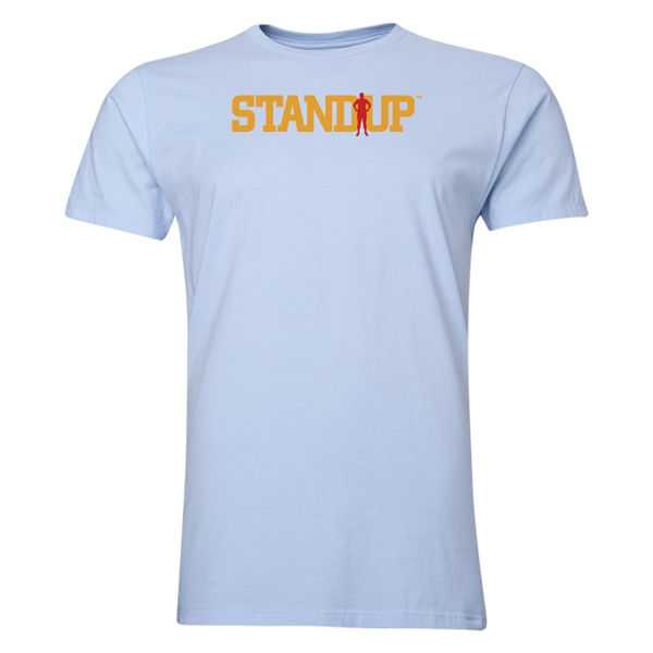 StandUp Logo Men's Fashion T-Shirt (Sky)