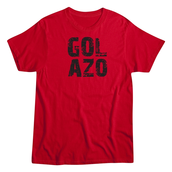 Gol Azo Men's Fashion T-Shirt (Red)