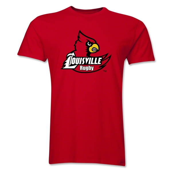 University of Louisville Rugby Premier T-Shirt (Red)