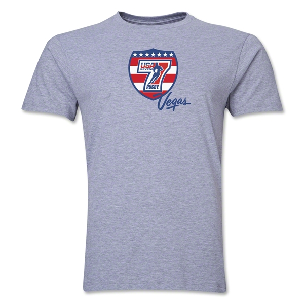 USA Sevens Vegas Rugby Premier T-Shirt (Gray)