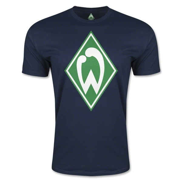 Werder Bremen Men's Fashion T-Shirt (Navy)