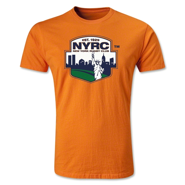 New York Rugby Club Premier T-Shirt (Orange)