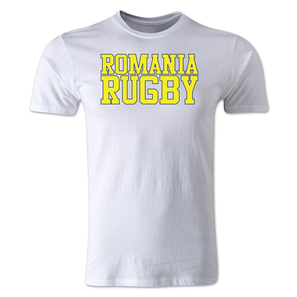 Romania Supporter Rugby T-Shirt (White)