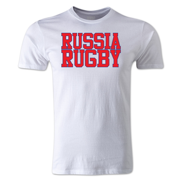 Russia Supporter Rugby T-Shirt (White)