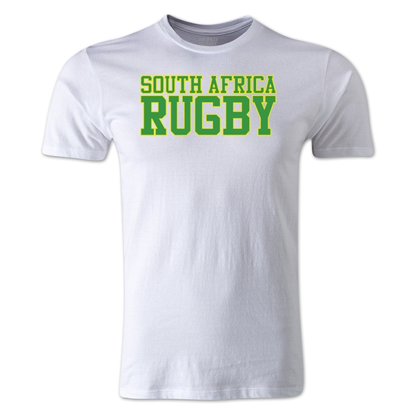 South Africa Supporter Rugby T-Shirt (White)