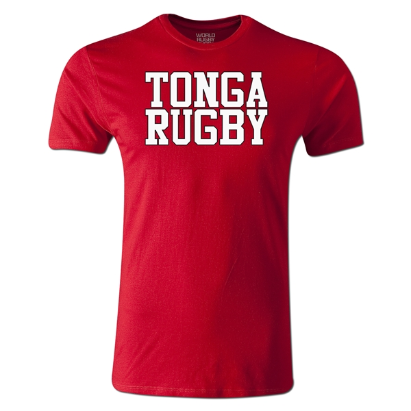 Tonga Supporter Rugby T-Shirt (Red)