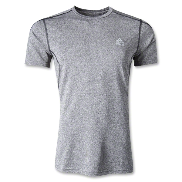 adidas TechFit Fitted Top (Dk Grey)