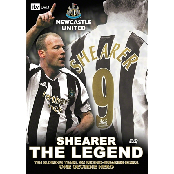 Shearer the Legend Soccer DVD