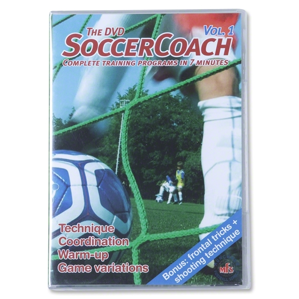 The DVD Soccer Coach Volume 1 DVD