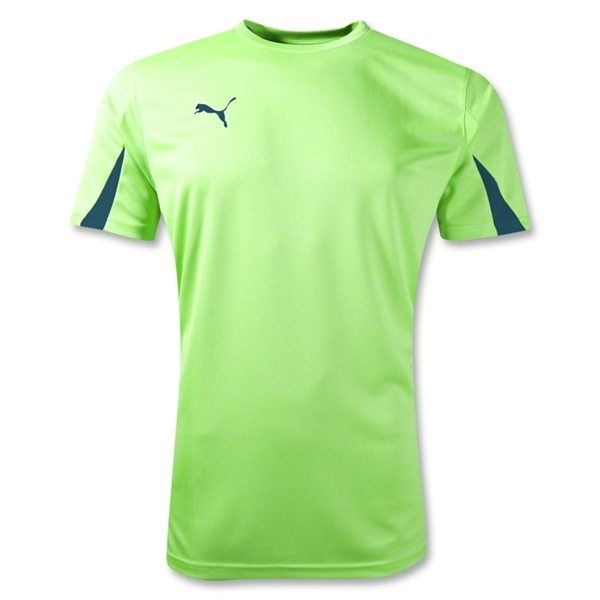 PUMA Scorpions SC Training T-Shirt (Neon Green)