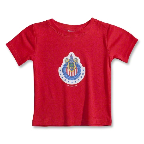 Chivas Logo Toddler T-Shirt (Red)