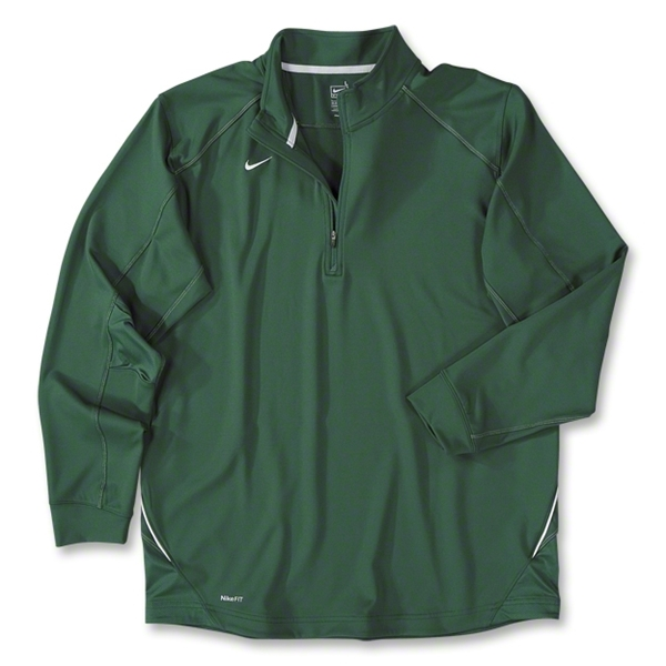 Nike Long Sleeve Training Top (Dark Green)