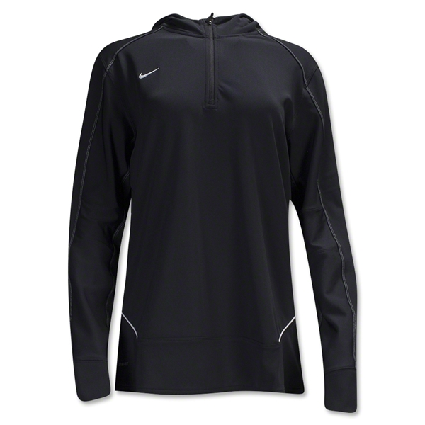 Nike LS Women's Training Hoody (Black)