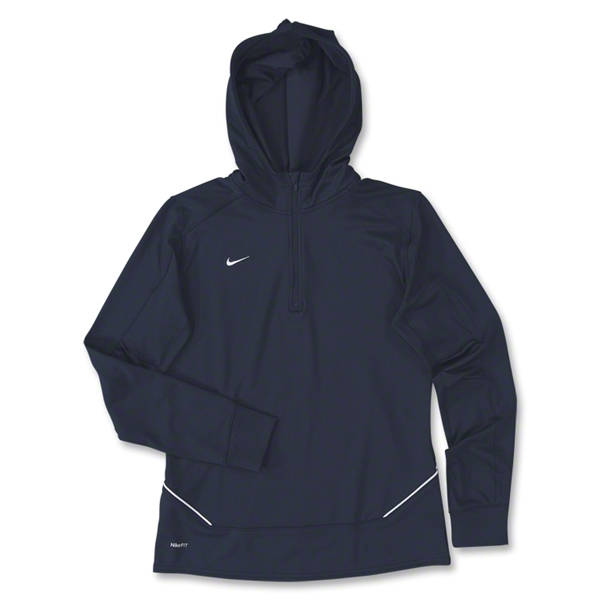 Nike LS Women's Training Hoody (Navy)