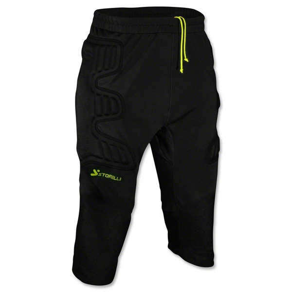 Storelli Bodyshield Ultimate Protection 3/4 Goalkeeper Pant (Black)