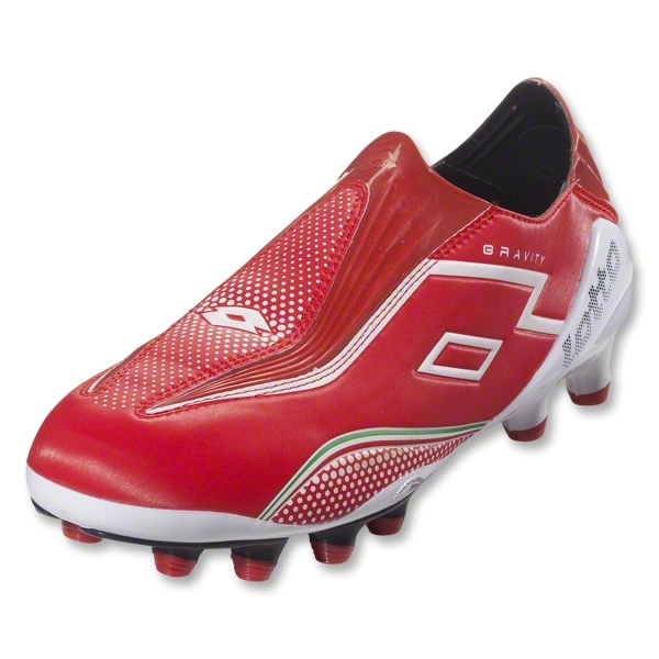 Lotto Zhero Gravity II 100 FG (Risk Red/White)