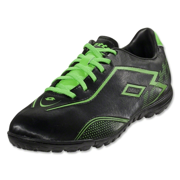 Lotto Zhero Gravity II 700 FG (Black/Metal Neon Green)