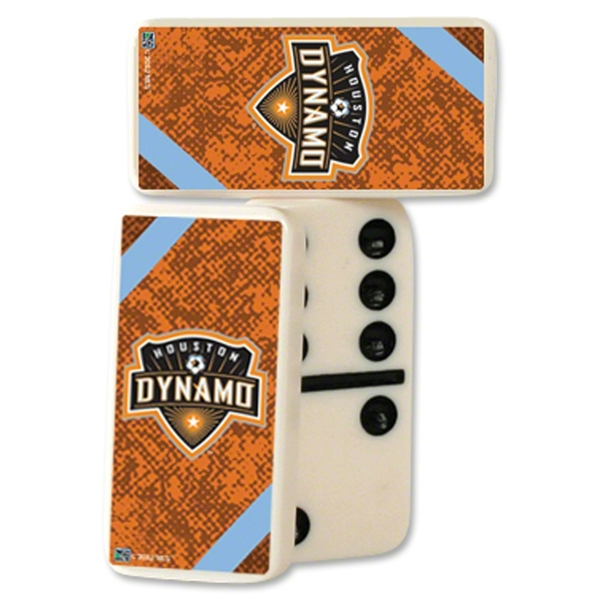 Houston Dynamo Double-Six Domino Set