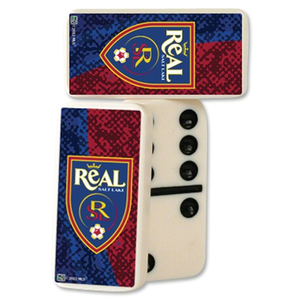 Real Salt Lake Double-Six Domino Set