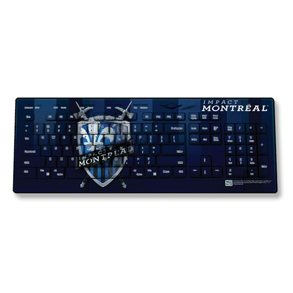 Montreal Impact Wireless Keyboard