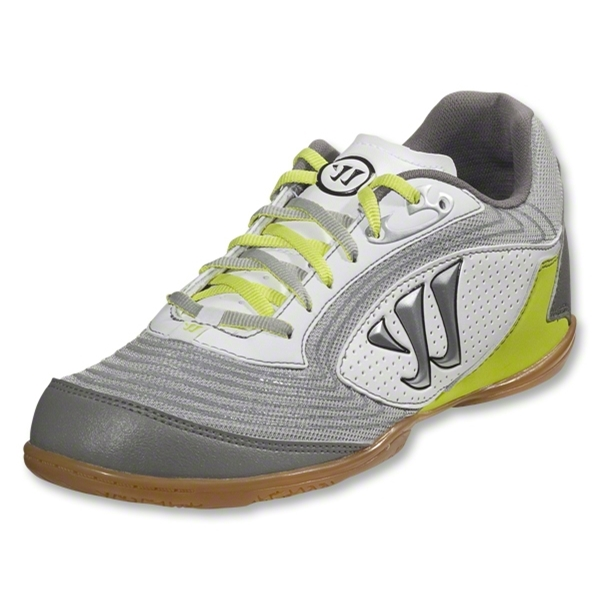 Warrior Futsal Thrust (White/Lime/Steel Grey)