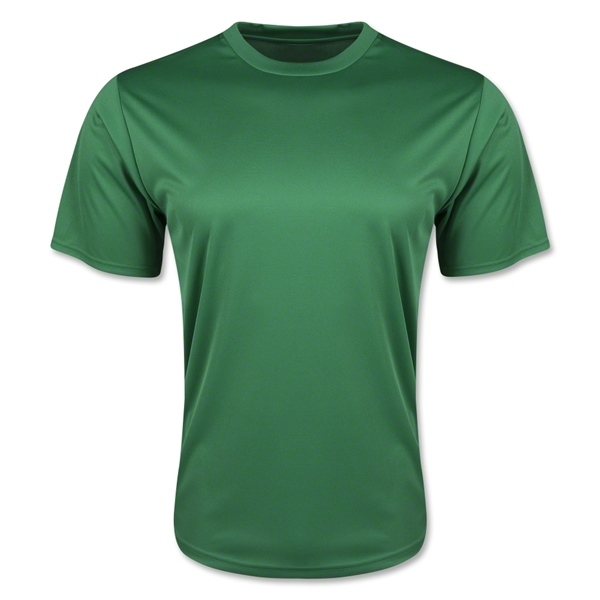 Moisture Wicking Poly T-Shirt (Green)