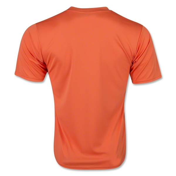 Moisture Wicking Poly T-Shirt (Orange)