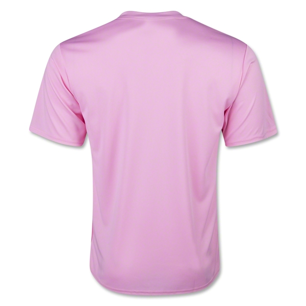 Moisture Wicking Poly T-Shirt (Pink)
