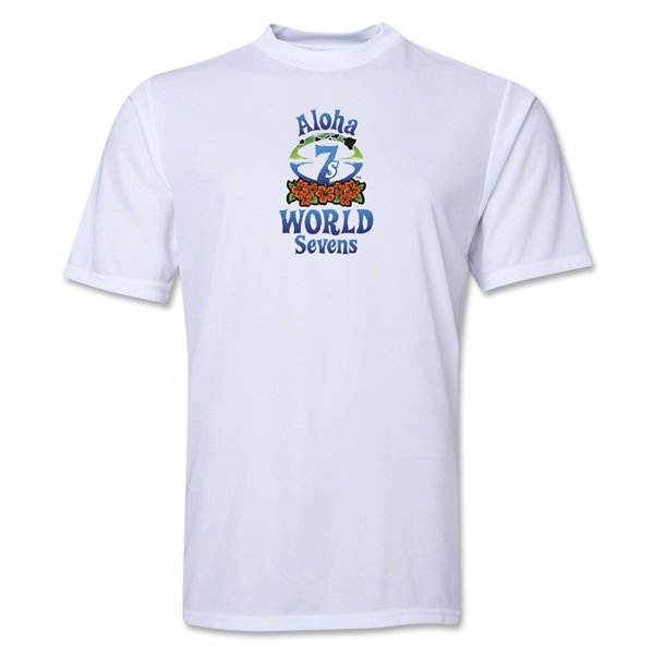 Aloha World Sevens Performance T-Shirt (White)