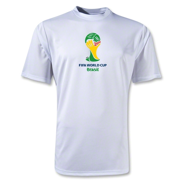 2014 FIFA World Cup Brazil(TM) Emblem Training T-Shirt (White)