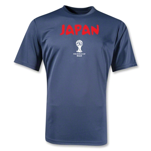 Japan 2014 FIFA World Cup Brazil(TM) Core Training T-Shirt (Navy)