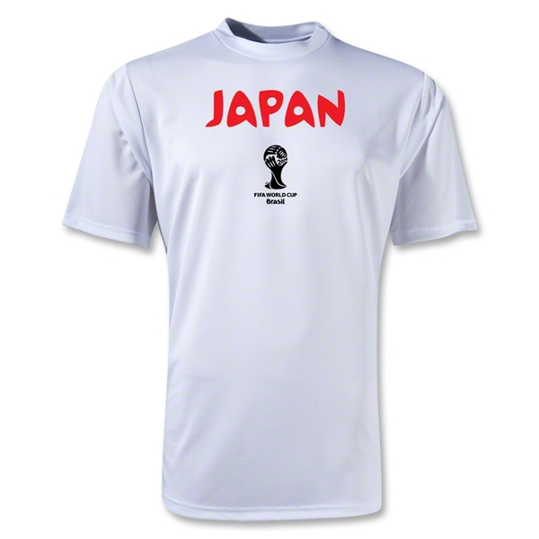 Japan 2014 FIFA World Cup Brazil(TM) Core Training T-Shirt (White)