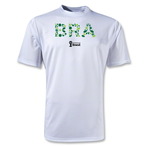 Brazil 2014 FIFA World Cup Brazil(TM) Training T-Shirt (White)