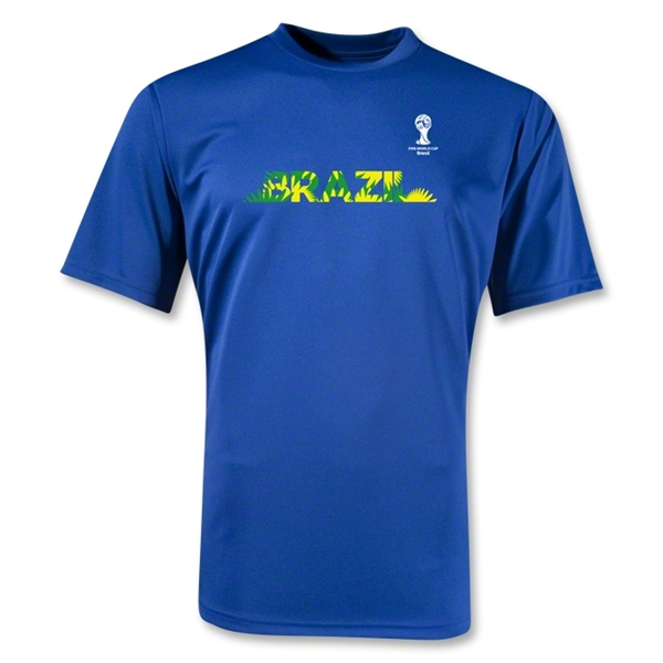 Brazil 2014 FIFA World Cup Brazil(TM) Training T-Shirt (Royal)
