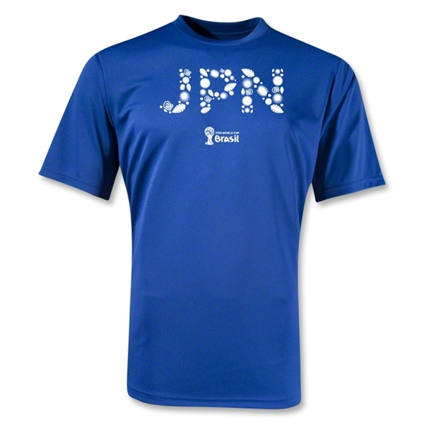 Japan 2014 FIFA World Cup Brazil(TM) Training T-Shirt (Royal)