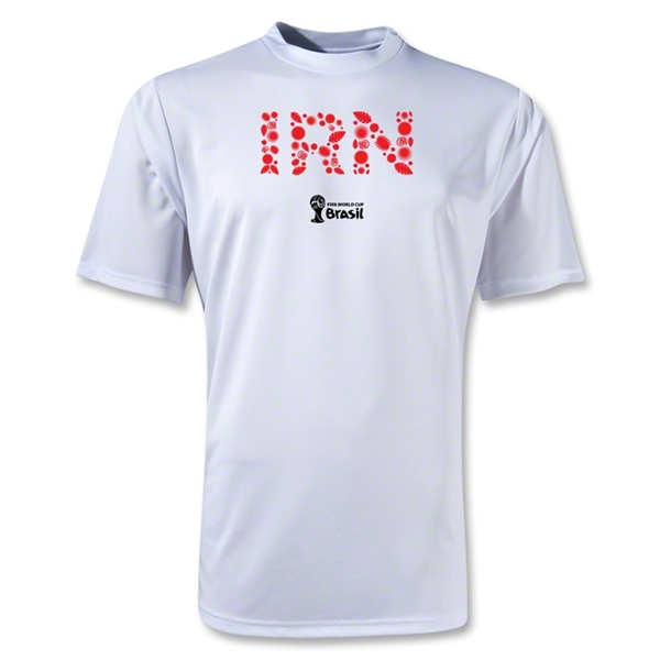 Iran 2014 FIFA World Cup Brazil(TM) Men's Elements Training T-Shirt (White)