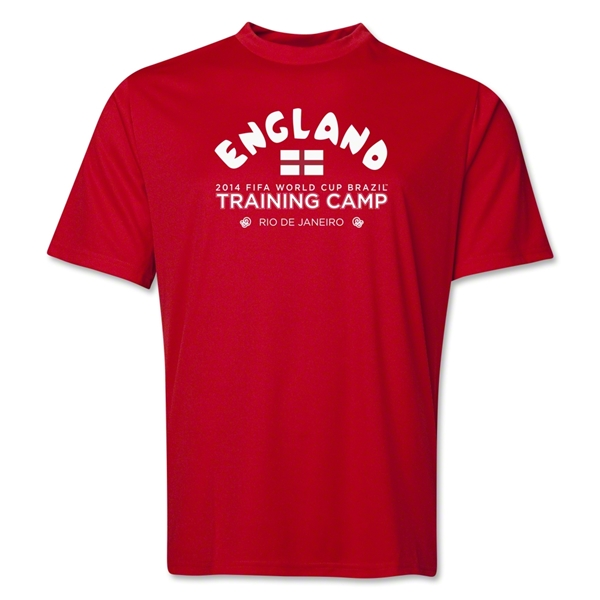 England 2014 FIFA World Cup Brazil(TM) Men's Training Camp T-Shirt (Red)