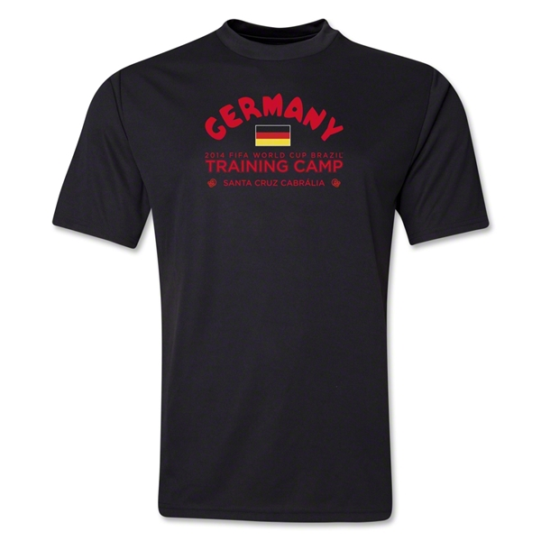 Germany 2014 FIFA World Cup Brazil(TM) Men's Training Camp T-Shirt (Black)