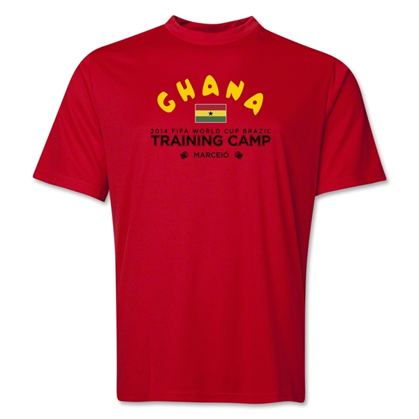 Ghana 2014 FIFA World Cup Brazil(TM) Men's Training Camp T-Shirt (Red)