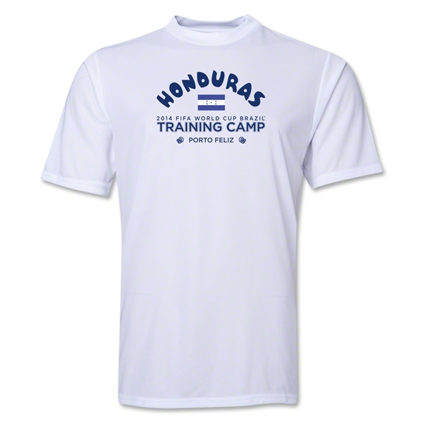 Honduras 2014 FIFA World Cup Brazil(TM) Men's Training Camp T-Shirt (White)
