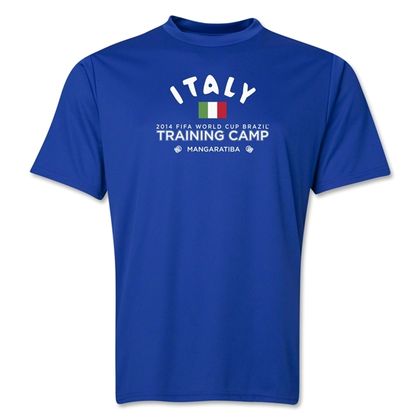 Italy 2014 FIFA World Cup Brazil(TM) Men's Training Camp T-Shirt (Royal)