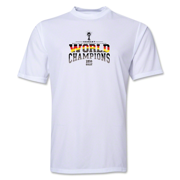 Germany 2014 FIFA World Cup Brazil(TM) World Champions Training T-Shirt (White)
