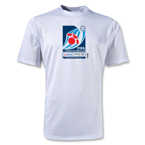 FIFA Interactive World Cup Moisture Wicking Poly Emblem T-Shirt (White)