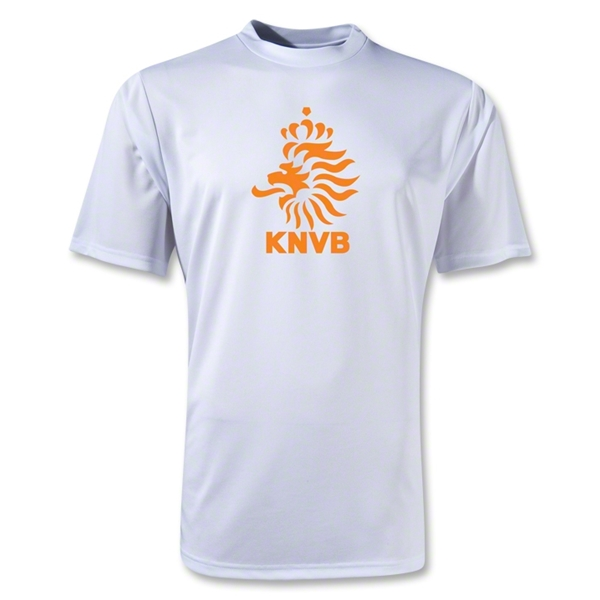 Netherlands Poly T-Shirt (White)