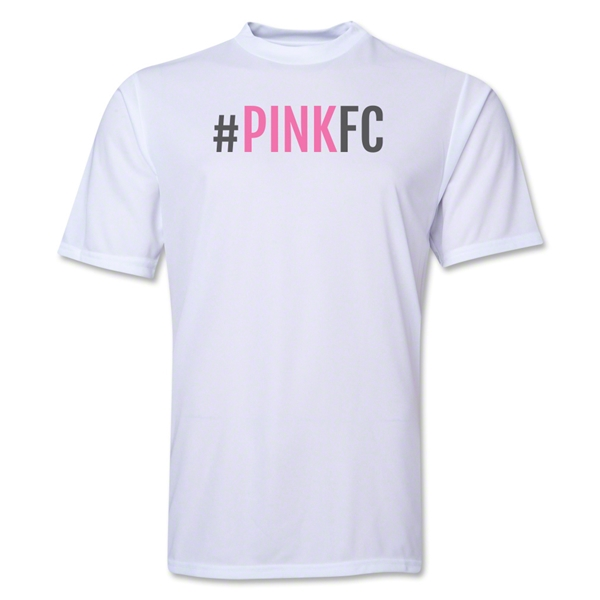 Pink FC Training T-Shirt (White)