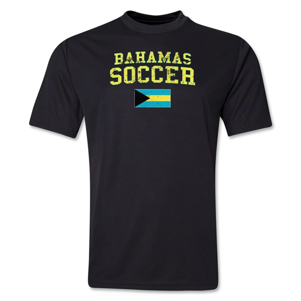 Bahamas Soccer Training T-Shirt (Black)
