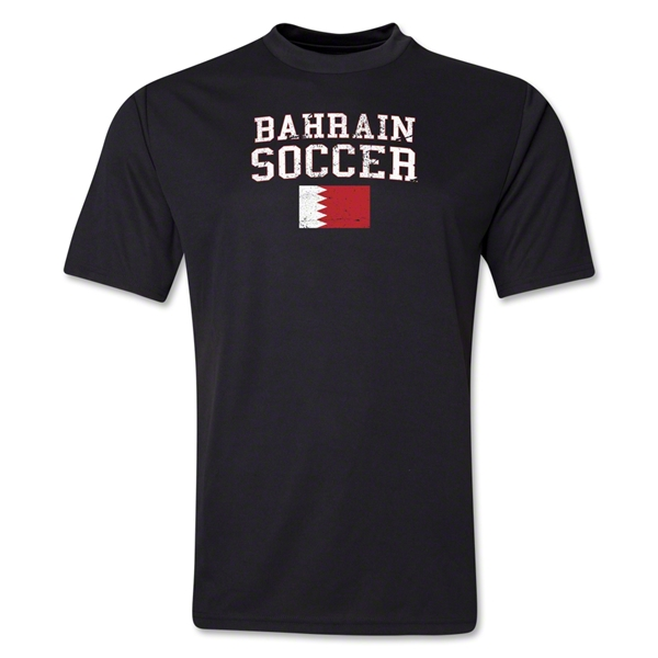 Bahrain Soccer Training T-Shirt (Black)