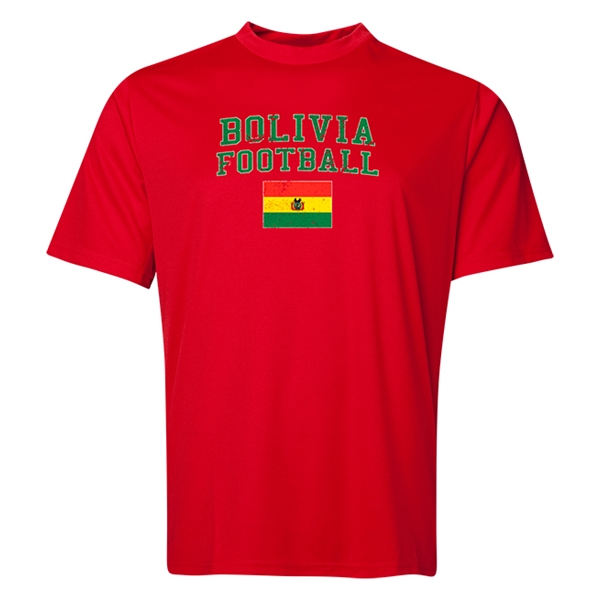 Bolivia Football Training T-Shirt (Red)