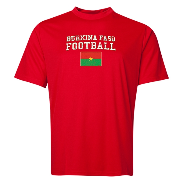 Burkina Faso Football Training T-Shirt (Red)
